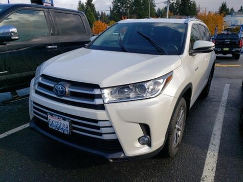 2018 Toyota Highlander Hybrid for sale in Seattle, WA