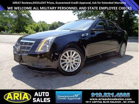 2011 Cadillac CTS for sale at ARIA  AUTO  SALES in Raleigh NC