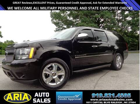 2009 Chevrolet Suburban for sale at ARIA AUTO SALES in Raleigh NC