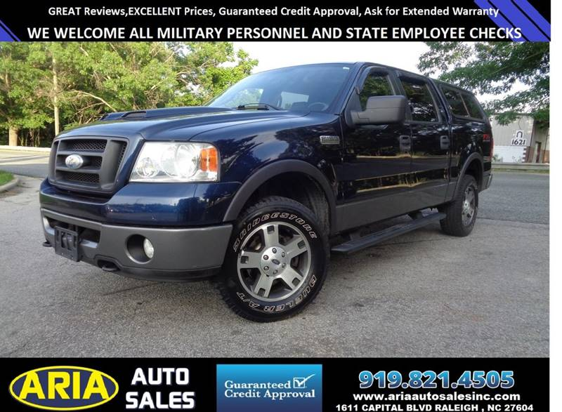 2006 Ford F-150 FX4 4dr SuperCrew 4WD Styleside 6.5 ft. LB - Raleigh NC