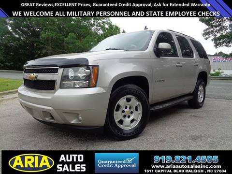 2007 Chevrolet Tahoe for sale at ARIA AUTO SALES in Raleigh NC