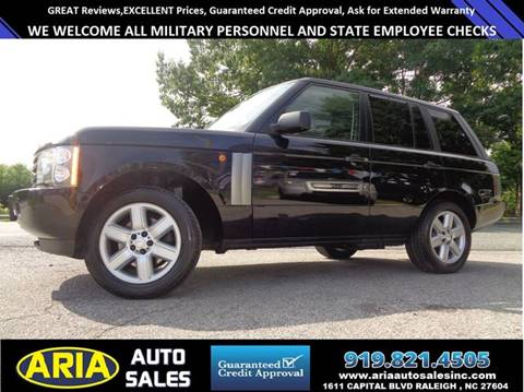 2004 Land Rover Range Rover for sale at ARIA AUTO SALES in Raleigh NC