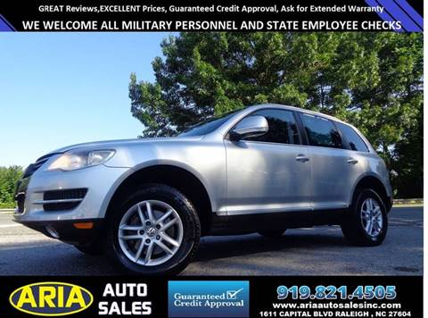 2008 Volkswagen Touareg 2 for sale in Raleigh, NC
