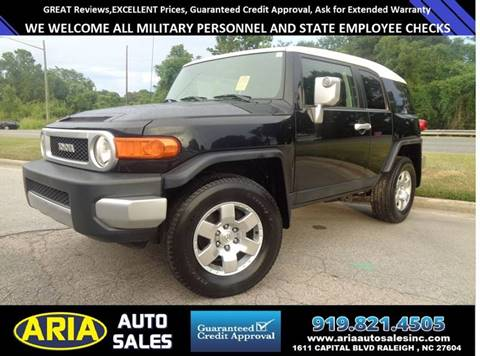 2007 Toyota FJ Cruiser for sale in Raleigh, NC