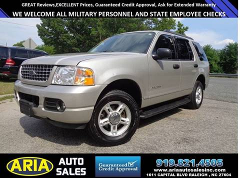 2005 Ford Explorer for sale at ARIA AUTO SALES in Raleigh NC