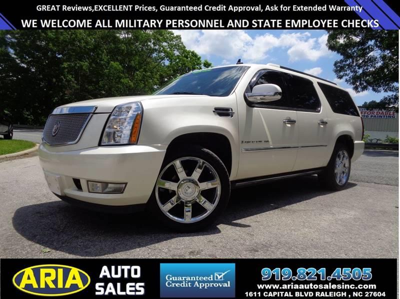 2007 Cadillac Escalade Esv Awd 4dr Suv In Raleigh Nc Aria Auto Salesrhariaautosalesinc: 2007 Cadillac Escalade Air Ride Pressor Location At Elf-jo.com
