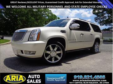 2007 Cadillac Escalade ESV for sale at ARIA  AUTO  SALES in Raleigh NC