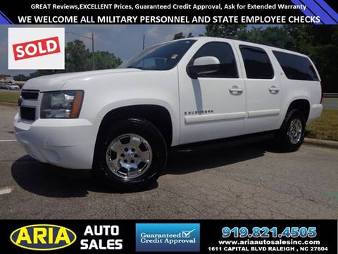 2008 Chevrolet Suburban for sale at ARIA AUTO SALES in Raleigh NC