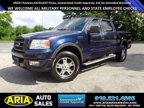 2004 Ford F-150 & Ford Used Cars financing For Sale Raleigh Aria Auto Sales markmcfarlin.com