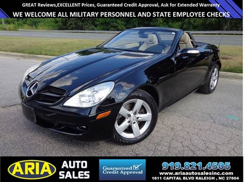2006 Mercedes-Benz SLK for sale at ARIA AUTO SALES in Raleigh NC