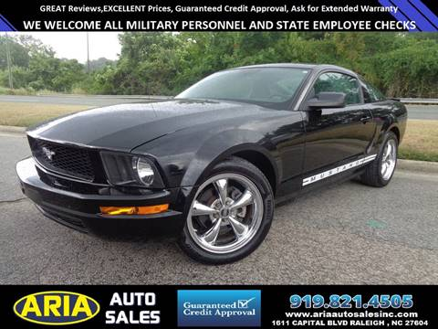 2009 Ford Mustang for sale at ARIA AUTO SALES in Raleigh NC