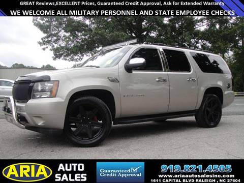 2007 Chevrolet Suburban for sale at ARIA AUTO SALES in Raleigh NC