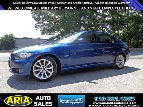 2009 BMW 3 Series for sale at ARIA  AUTO  SALES in Raleigh NC