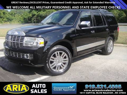 2008 Lincoln Navigator for sale at ARIA AUTO SALES in Raleigh NC
