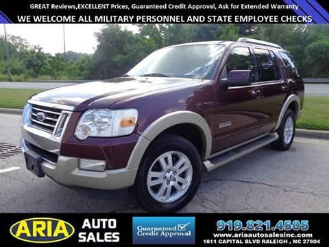 2007 Ford Explorer for sale at ARIA AUTO SALES in Raleigh NC