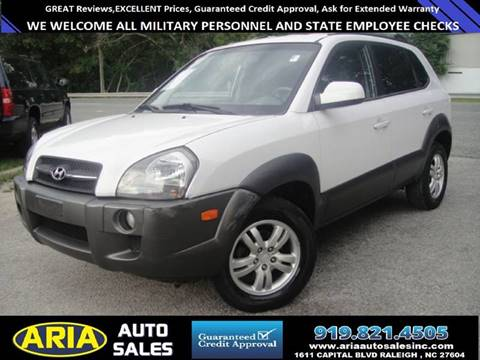 2008 Hyundai Tucson for sale at ARIA  AUTO  SALES in Raleigh NC