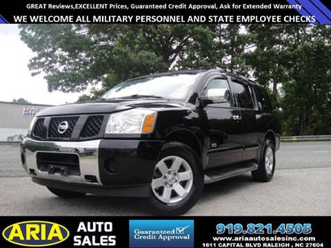 2007 Nissan Armada for sale at ARIA  AUTO  SALES in Raleigh NC