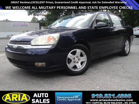 2004 Chevrolet Malibu for sale at ARIA AUTO SALES in Raleigh NC