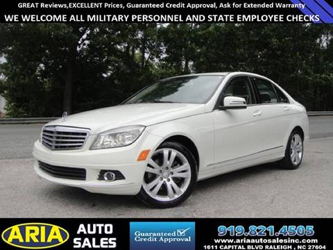 2011 Mercedes-Benz C-Class for sale at ARIA AUTO SALES in Raleigh NC