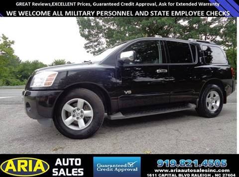 2007 Nissan Armada for sale in Raleigh, NC