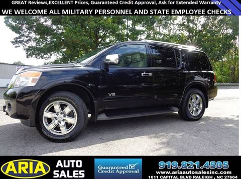2009 Nissan Armada for sale in Raleigh, NC