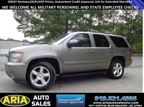 2008 Chevrolet Tahoe for sale in Raleigh, NC