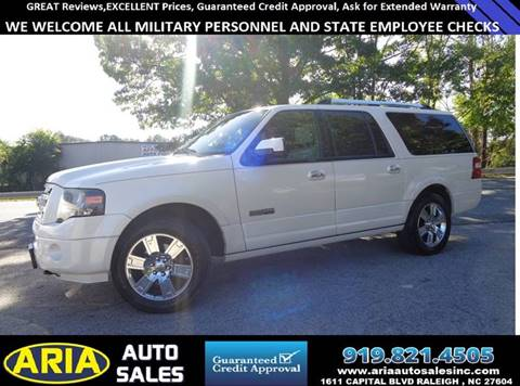 2008 Ford Expedition EL for sale in Raleigh, NC