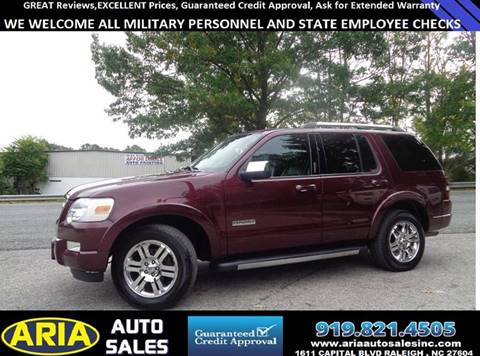2008 Ford Explorer for sale in Raleigh, NC