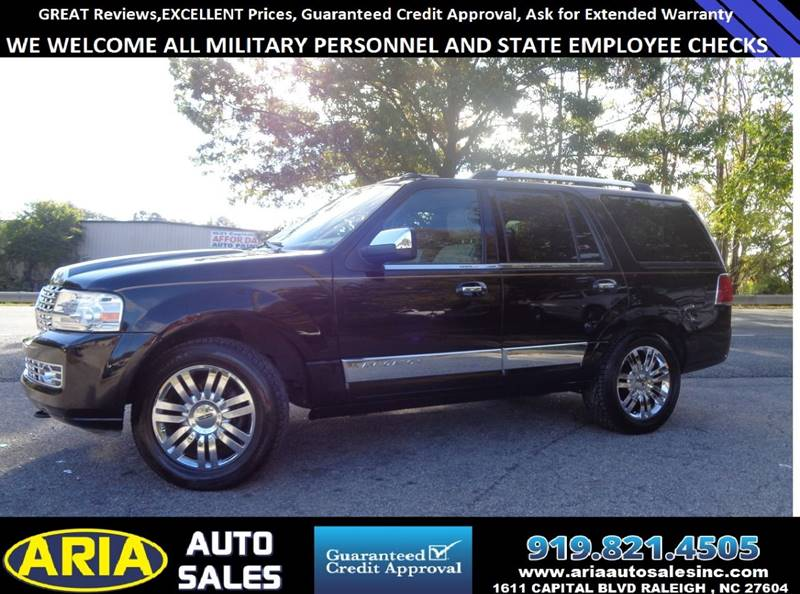 2007 Lincoln Navigator Ultimate 4dr Suv 4wd In Raleigh Nc Aria