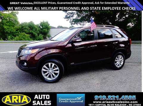 2011 Kia Sorento For Sale In Raleigh, NC