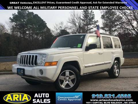 2010 Jeep Commander for sale in Raleigh, NC
