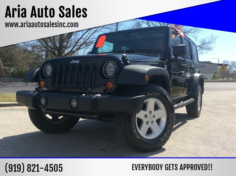 Jeeps For Sale Raleigh Nc >> 2011 Jeep Wrangler Unlimited 4x4 Sport 4dr Suv In Raleigh Nc