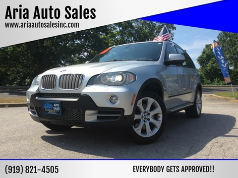 2009 BMW X5 for sale at ARIA AUTO SALES in Raleigh NC