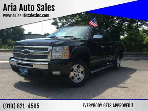 2010 Chevrolet Silverado 1500 for sale at ARIA AUTO SALES in Raleigh NC