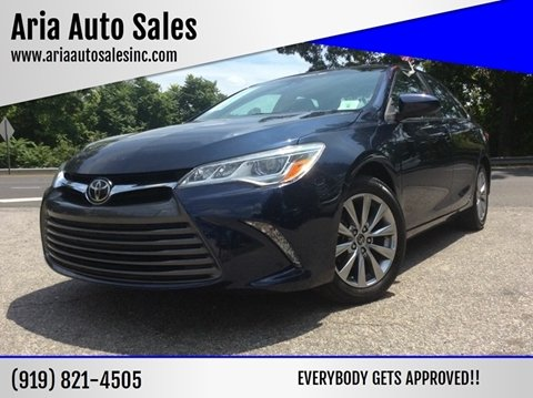 2015 Toyota Camry for sale at ARIA AUTO SALES in Raleigh NC