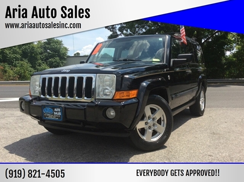 2006 Jeep Commander for sale at ARIA AUTO SALES in Raleigh NC