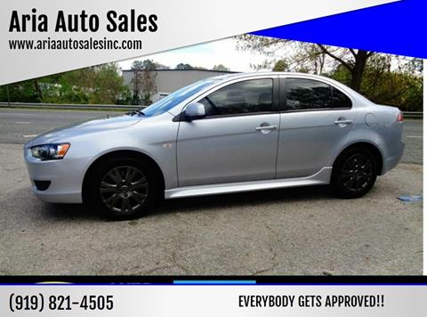 2013 Mitsubishi Lancer for sale at ARIA AUTO SALES in Raleigh NC