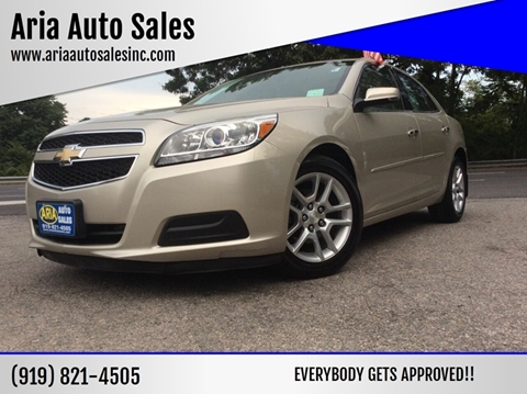2013 Chevrolet Malibu for sale at ARIA AUTO SALES in Raleigh NC
