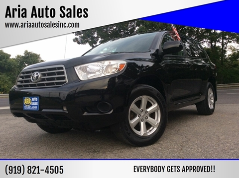 2010 Toyota Highlander for sale at ARIA AUTO SALES in Raleigh NC