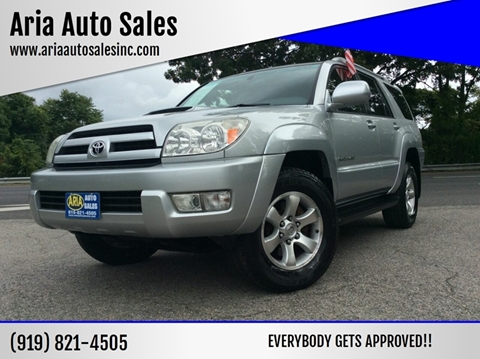 2004 Toyota 4Runner for sale at ARIA AUTO SALES in Raleigh NC