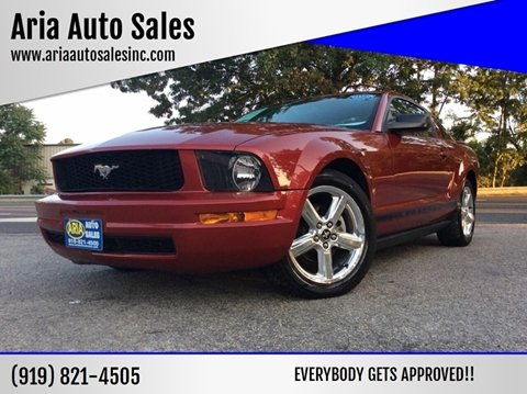2008 Ford Mustang for sale at ARIA AUTO SALES in Raleigh NC