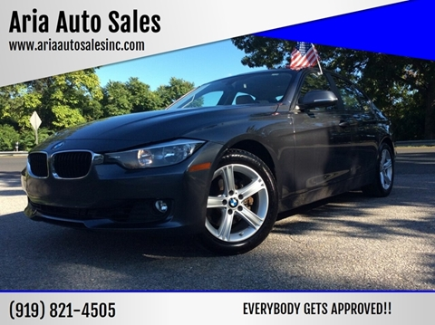 2015 BMW 3 Series for sale at ARIA AUTO SALES in Raleigh NC