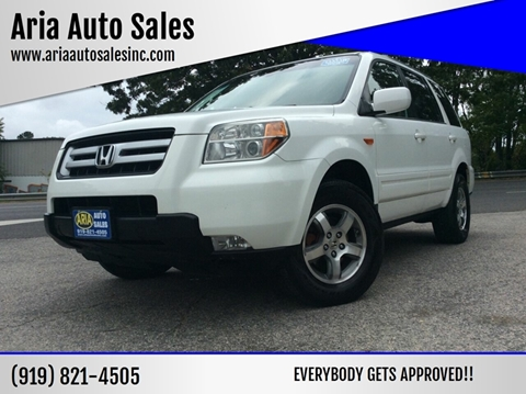 2006 Honda Pilot for sale at ARIA AUTO SALES in Raleigh NC