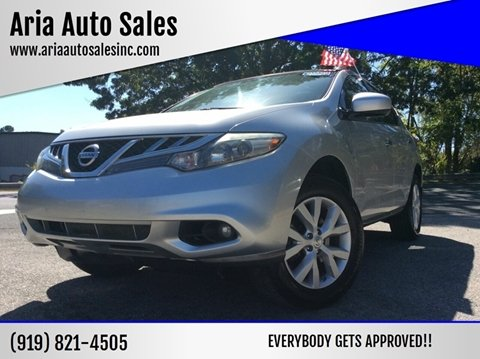 2011 Nissan Murano for sale at ARIA AUTO SALES in Raleigh NC