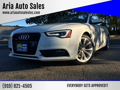 2013 Audi A5 for sale at ARIA AUTO SALES in Raleigh NC