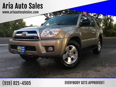 2006 Toyota 4Runner for sale at ARIA AUTO SALES in Raleigh NC