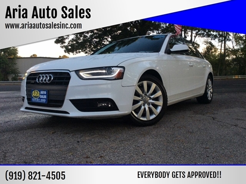 2013 Audi A4 for sale at ARIA AUTO SALES in Raleigh NC