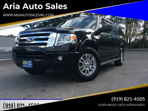 2012 Ford Expedition EL for sale at ARIA AUTO SALES in Raleigh NC