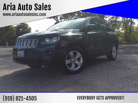 2014 Jeep Compass for sale at ARIA AUTO SALES in Raleigh NC