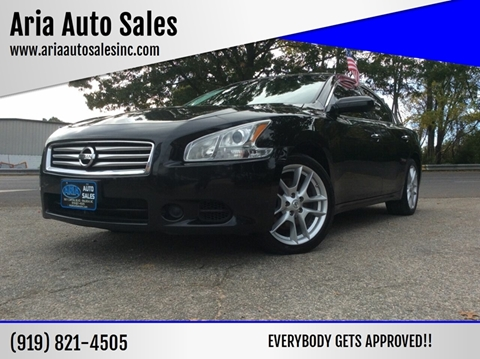 2014 Nissan Maxima for sale at ARIA AUTO SALES in Raleigh NC